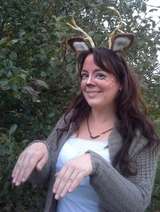 Deer me! : My Hallowe'en costume last year. :)